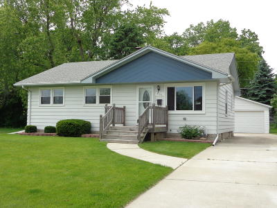 Racine Single Family Home Active Contingent With Offer: 3144 Windsor Dr