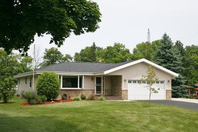 Pleasant Prairie WI Single Family Home For Sale: $299,000