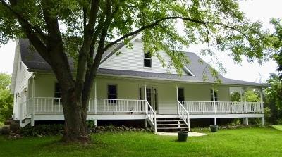 Cedar Grove Single Family Home For Sale: W4464 Risseeuw Rd