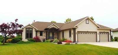 Sheboygan Falls Single Family Home For Sale: N6356 Kapur Dr
