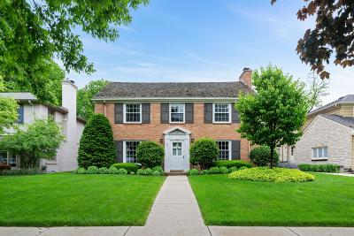 Whitefish Bay Single Family Home For Sale: 4628 N Wilshire Rd