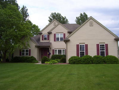 Oconomowoc Single Family Home Active Contingent With Offer: N66w34424 Timberline Rd