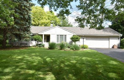 Mukwonago Single Family Home Active Contingent With Offer: W307s8550 Woodland Dr