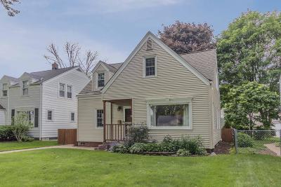 Milwaukee Single Family Home Active Contingent With Offer: 3569 S Pine Ave