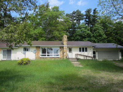 Menominee County Single Family Home For Sale: N6615 Hayward Dr.