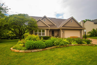 Menomonee Falls Single Family Home Active Contingent With Offer: N77w16216 Overlook Dr