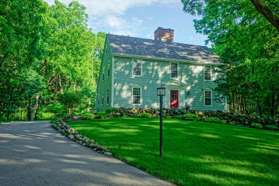 Delafield Single Family Home Active Contingent With Offer: N11w31649 Pine Ridge Cir