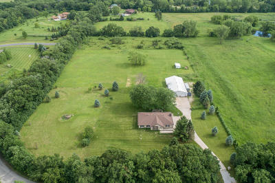 Oconomowoc Single Family Home Active Contingent With Offer: S23w33547 Morris Rd