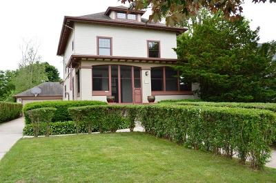 Plymouth Single Family Home For Sale: 713 Reed St
