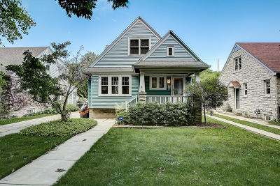 Whitefish Bay Single Family Home Active Contingent With Offer: 4929 N Idlewild Ave