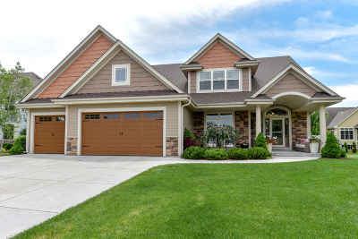 Oconomowoc Single Family Home Active Contingent With Offer: 489 Lake Bluff Dr