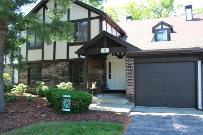 Williams Bay Condo/Townhouse Active Contingent With Offer: 5 Highwood Ct #D