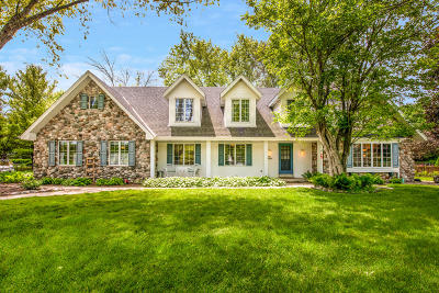 Menomonee Falls Single Family Home Active Contingent With Offer: N91w20695 Hillview Dr