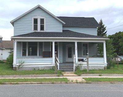 Menominee Single Family Home For Sale: 1212 17th Ave