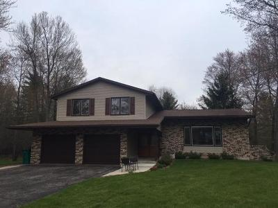 Marinette Single Family Home Active Contingent With Offer: N3724 Cleveland Ave