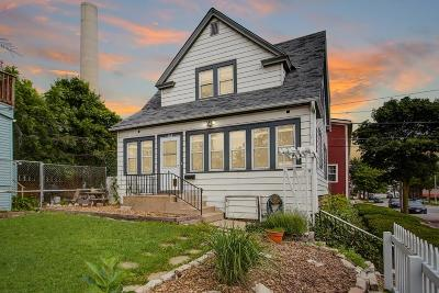 Milwaukee Single Family Home Active Contingent With Offer: 140 E Rosedale Ave