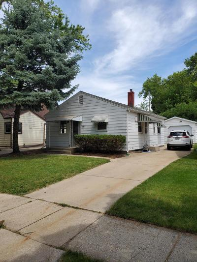 West Allis Single Family Home Active Contingent With Offer: 2132 S 98th St