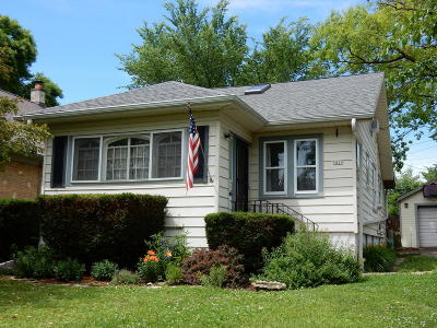 Milwaukee WI Single Family Home For Sale: $122,900