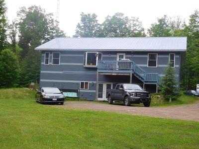 Niagara Single Family Home For Sale: 778 E Fischer Lake Pkwy
