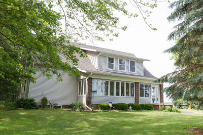 Sheboygan Falls Single Family Home Active Contingent With Offer: W3618 County Road Pp
