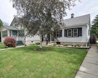 West Allis Single Family Home Active Contingent With Offer: 2460 S 76th St