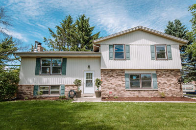 Germantown Single Family Home Active Contingent With Offer: W165n10401 Wagon Trl