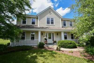 Nashotah Single Family Home Active Contingent With Offer: N39w32890 High Hill Ct