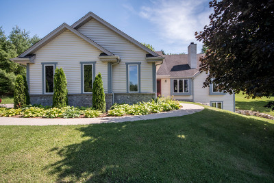Waukesha Single Family Home For Sale: S25w29353 Cambrian Rdg