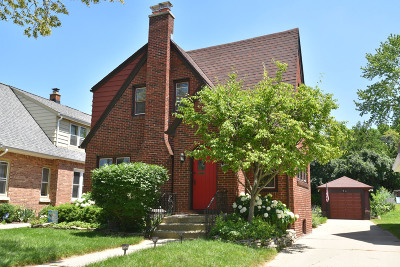 Wauwatosa Single Family Home Active Contingent With Offer: 2550 N 67th St
