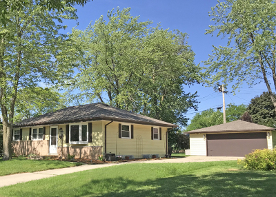 Menomonee Falls Single Family Home Active Contingent With Offer: W147n8436 Manchester Dr