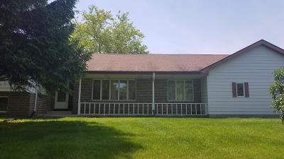West Bend Single Family Home For Sale: 5267 S Church Rd