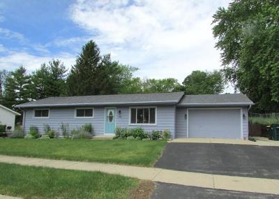 Fort Atkinson WI Single Family Home Active Contingent With Offer: $167,900