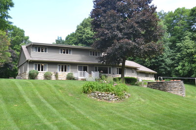 Richfield, Hubertus Single Family Home For Sale: 1518 Sleepy Hollow Rd