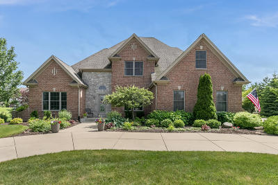 Pleasant Prairie WI Single Family Home For Sale: $564,900