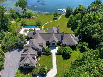 Oconomowoc Single Family Home Active Contingent With Offer: 3934 N Hickory Ln