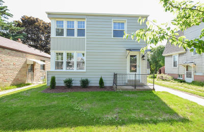 Milwaukee Single Family Home Active Contingent With Offer: 3750 Whitnall Ave