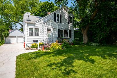 Cedarburg Single Family Home For Sale: N50w6448 Western Rd