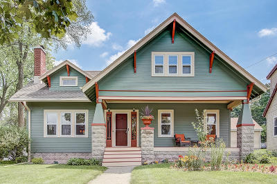 Waukesha Single Family Home Active Contingent With Offer: 103 N Greenfield Ave