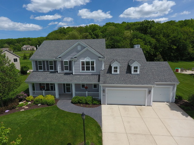 Waukesha Single Family Home Active Contingent With Offer: W221s4004 Crestview Dr