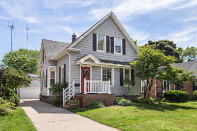 Whitefish Bay Single Family Home Active Contingent With Offer: 519 E Hampton