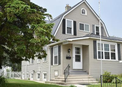 Sheboygan Single Family Home Active Contingent With Offer: 2318 Lake Shore Dr