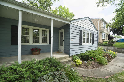 Wauwatosa Single Family Home Active Contingent With Offer: 508 N 114th St