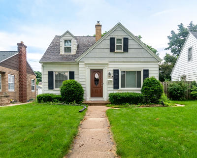 West Allis Single Family Home Active Contingent With Offer: 2420 S 62nd St