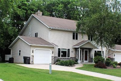 Sheboygan Falls Condo/Townhouse Active Contingent With Offer: 118 Evans Ct