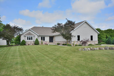 Single Family Home Active Contingent With Offer: W250n8849 Hillside Rd