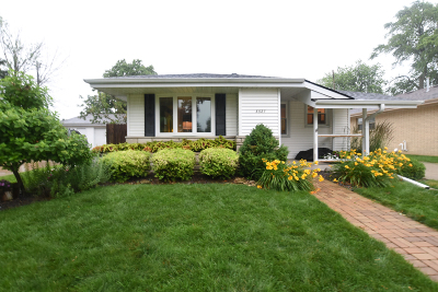 Racine Single Family Home Active Contingent With Offer: 3327 First Ave