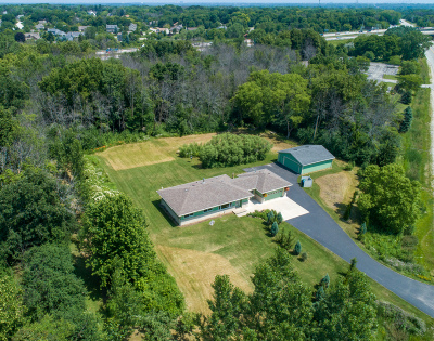 New Berlin Single Family Home Active Contingent With Offer: 13560 W Beloit Rd