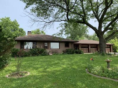 Mequon Single Family Home Active Contingent With Offer: 11020 N River Rd