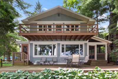 Mukwonago Single Family Home Active Contingent With Offer: W1751 Byrnes Ln