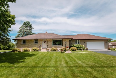 Menomonee Falls Single Family Home Active Contingent With Offer: N84w21322 Menomonee Ave